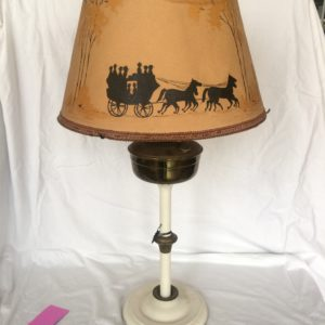 Lighting antiques ballarat aladdin lamp with parchment shade 250 aloadofball Images