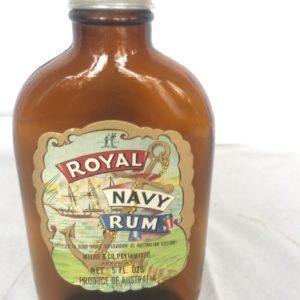 Royal Navy Rum Bottle