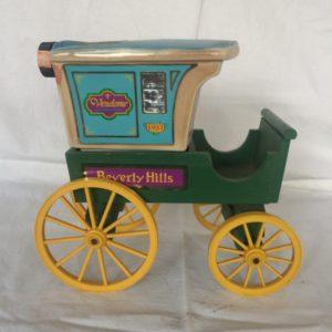 Jim Beam Beverly Hills Cart decanter