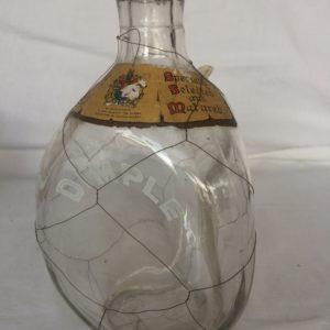 Dimple Scotch Bottle