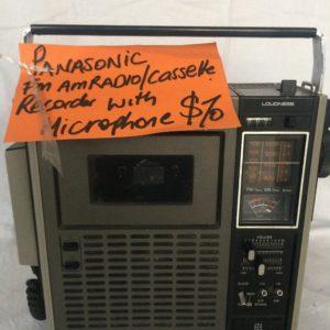 Panasonic FM/AM Cassette Recorder